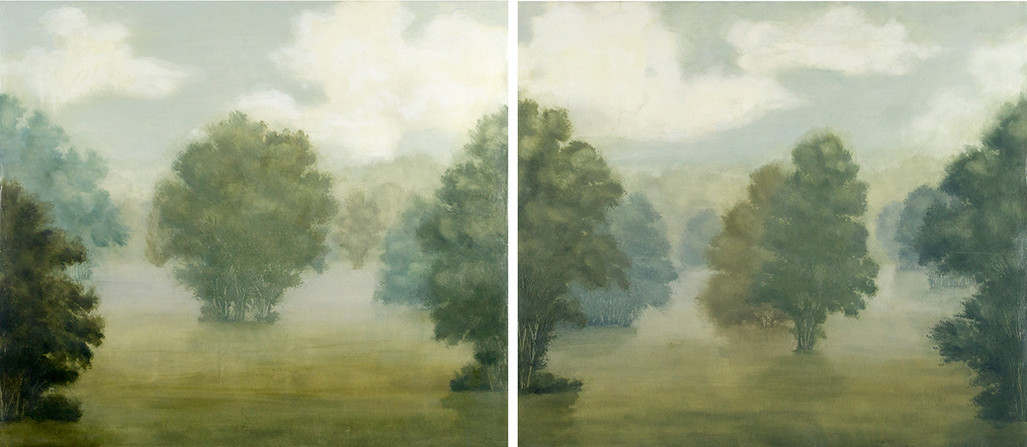 Lasting Ease diptych