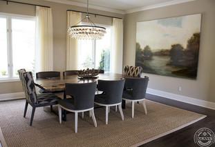 Dennis Clark dining room for Charlotte Terrell