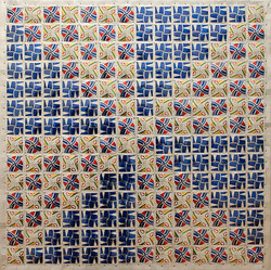 """SOLD - American Quilt - 22"""" x 22"""""""