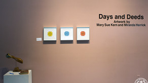 Art installation photography: Days and Deeds