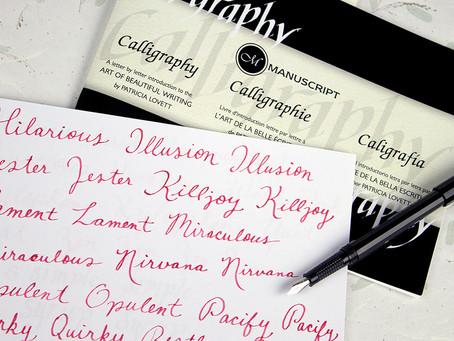 How I Unwind: Calligraphy