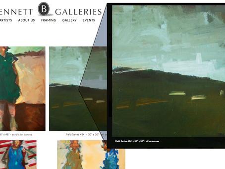 The new Bennett Galleries Nashville Website