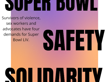 On the Super Bowl, Safety and Solidarity