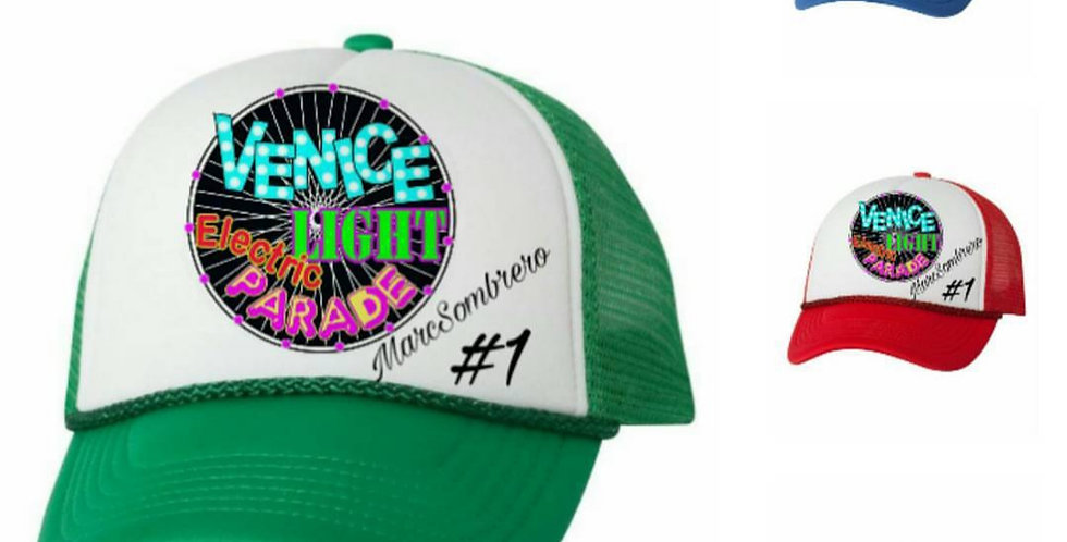 Venice Electric Light Parade VINTAGE Truckers Hat