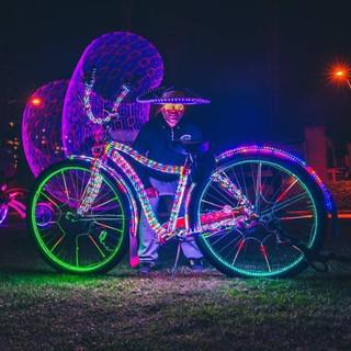 Light up bike
