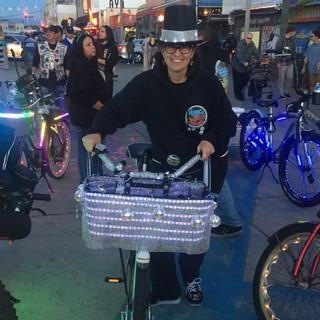 Diane @ Venice Electric Light Parade