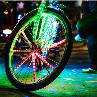 36 inch Bicycle Rim Custom LED spokes