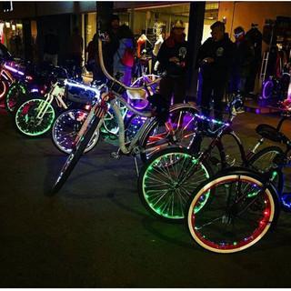 Light up bikes