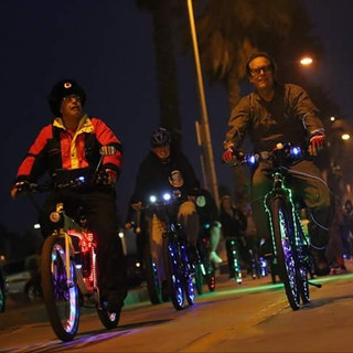 Mike Krieger Venice Electric Light Parad