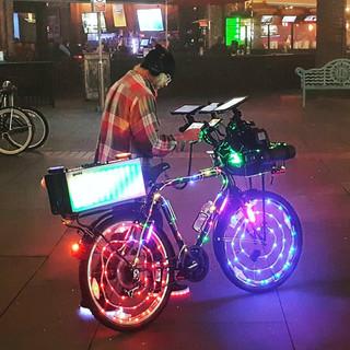 PK the bicycle DJ
