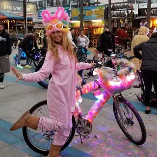 Lisa Kellog @Venice Electric Light Parade