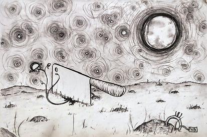 Nicole - Planetary Harvest, charcoal.jpg