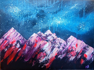 Nicole - Martian Marshmallow Mountains,