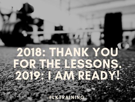 Saying good bye to 2018
