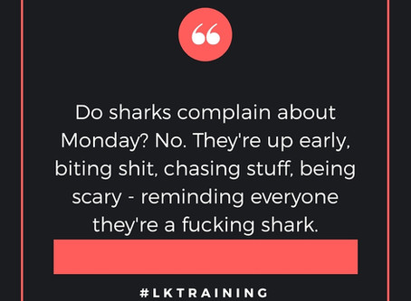 Are you a shark? 🦈