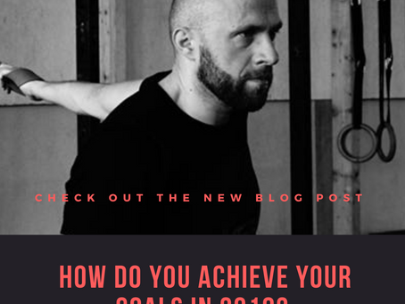 How do you achieve your goals in 2019?