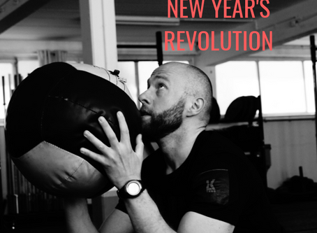 Instead of a New Year's Resolution, New Year's Revolution