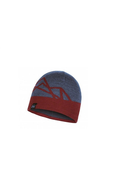 BUFF NAVY YOST KNITTED AND POLAR HAT