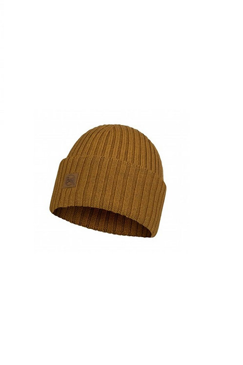 BUFF MUSTARD ERVIN  KNITTED FISHERMAN HAT