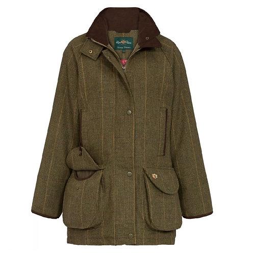 Alan Paine Ladies Heather Combrook Tweed Shooting Coat