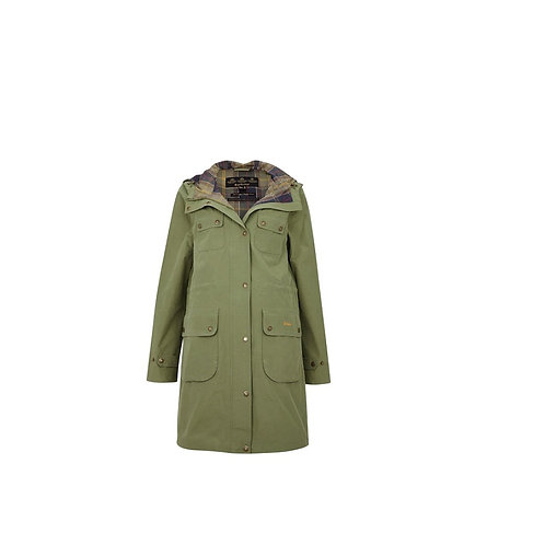 BARBOUR LADIES BAYLEAF IDRIS WATERPROOF JACKET