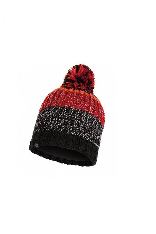 BUFF BLACK STIG KNITTED AND POLAR HAT