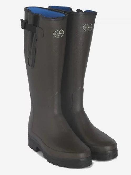 Le Chameau Marron Fonce Vierzonord Welly Boots