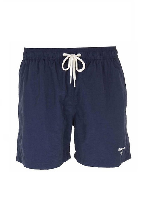 "BARBOUR NAVY LOGO 5"" SWIM SHORTS"