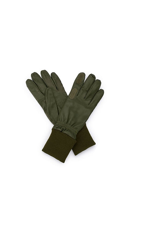 CHESTER JEFFERIES SPORTAC OLIVE REPEATER SHOOTING GLOVE