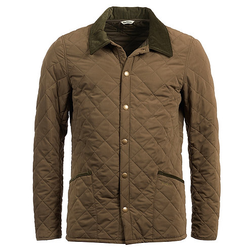 BARBOUR CLAY BRIDLE QUILTED JACKET