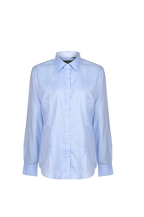 ALAN PAINE LADIES BLUE BROMFORD SHIRT