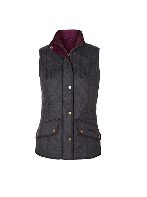 BARBOUR LADIES NAVY CAVALRY GILET