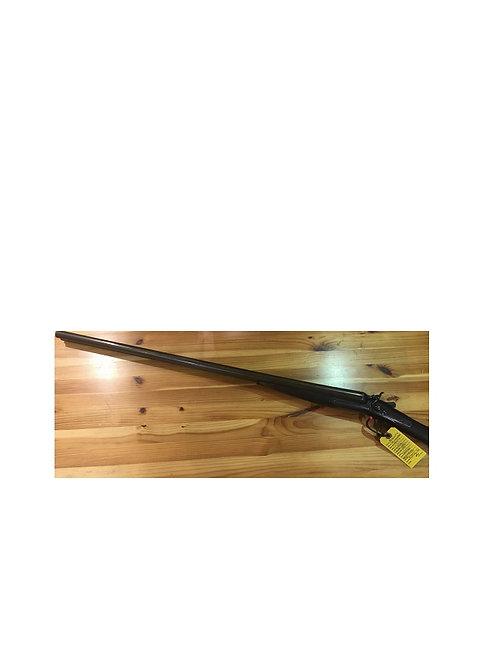 SMITH SIDE BY SIDE DAMASCUS BARREL 12G HAMMER GUN