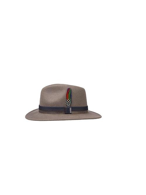 STETSON TAUPE (76) PARLESTO TRAVELLER WOOLFELT HAT (2528106)