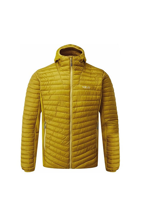 RAB DARK SULPHUR CIRRUS FLEX HOODED JACKET