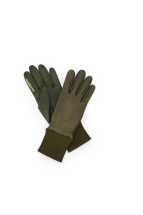 CHESTER JEFFERIES SPORTAC OLIVE MOORLAND SHOOTING GLOVE