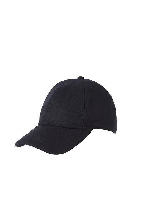 BARBOUR BLACK COOPWORTH SPORTS CAP