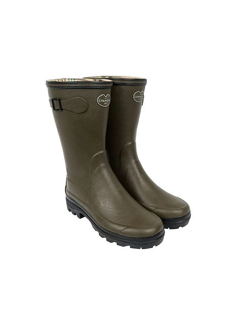 LE CHAMEAU LADIES VERT CHAMEAU GIVERNY BOTTILLION WELLY BOOTS