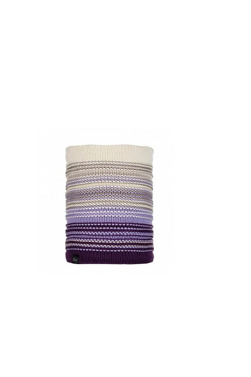 BUFF VIOLET NEPER KNITTED AND POLAR NECKWEAR