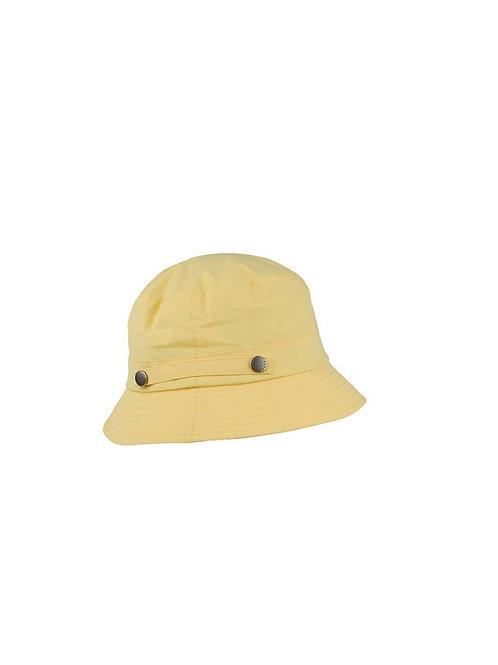 BARBOUR DANDELION YELLOW WEATHER COMFORT BUCKET HAT