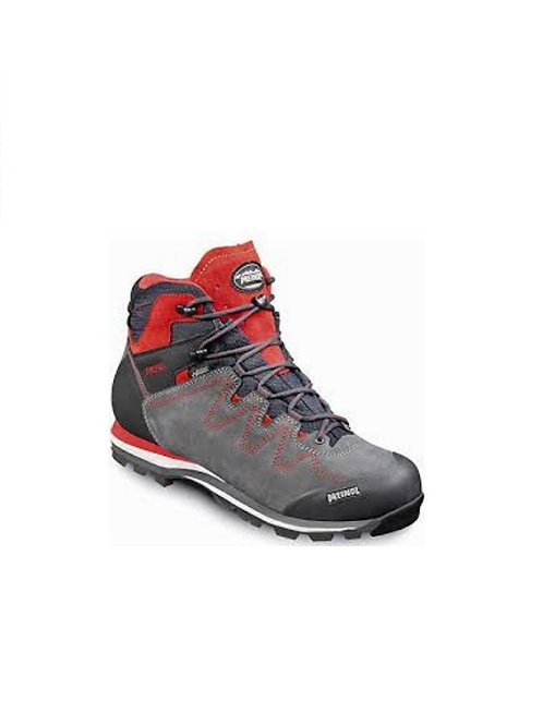 MEINDL ANTHRACITE/RED AUCKLAND GTX WALKING BOOTS