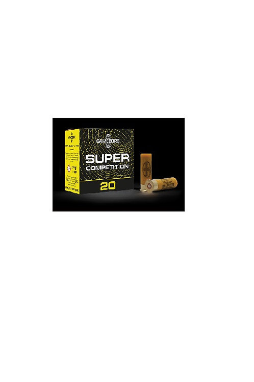 GAMEBORE SUPER COMPETITION 20G 8-24GRM FIBRE WAD £60.60 * IN STOCK IN STORE
