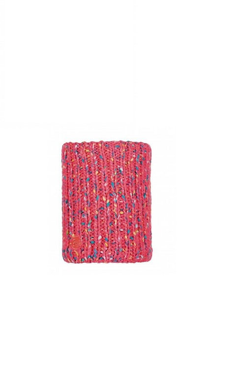 BUFF PINK FLUOR YSSIK KNITTED AND POLAR NECKWEAR