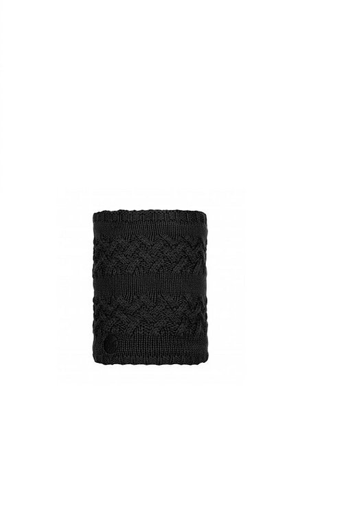 BUFF BLACK SAVVA KNITTED AND POLAR NECKWEAR