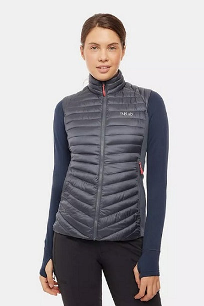 RAB LADIES STEEL CIRRUS FLEX VEST