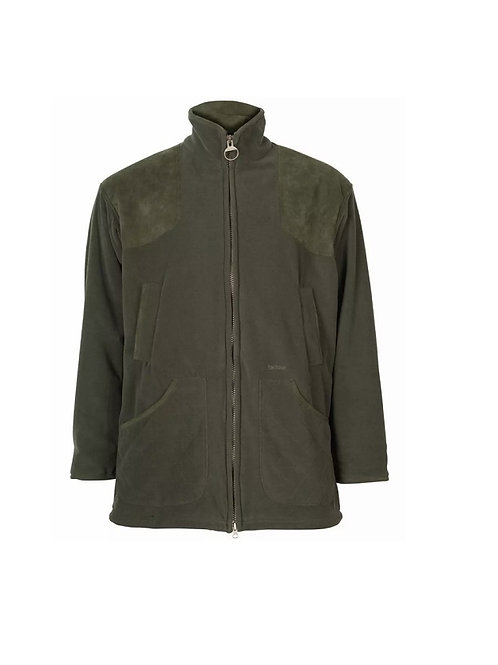 BARBOUR OLIVE DUNMOOR WINDPROOF FLEECE