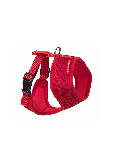 HOUSE OF PAWS RED MEMORY FOAM HARNESS SIZE S