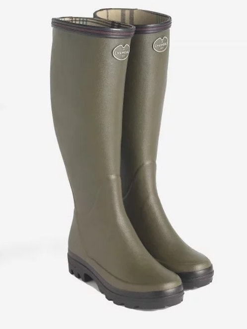 Le Chameau Ladies Vert Chameau BTE Giverny Welly Boots