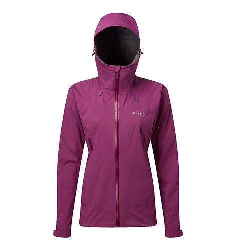 Rab Ladies Violet Downpour Plus Jacket