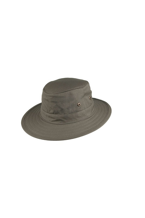 FAILSWORTH OLIVE TRAVELER CRUSHABLE SUN HAT